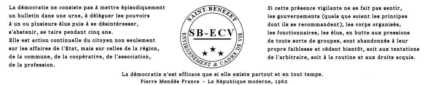Saint-Bénézet Environnement et Cadre de Vie